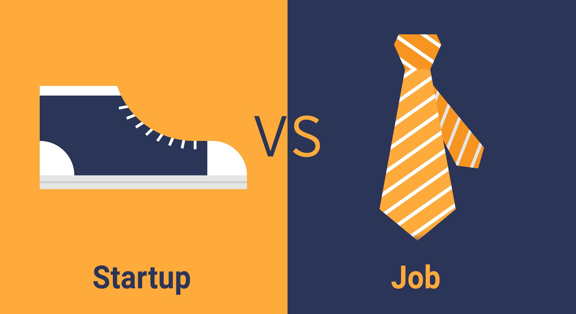 startup-vs-job