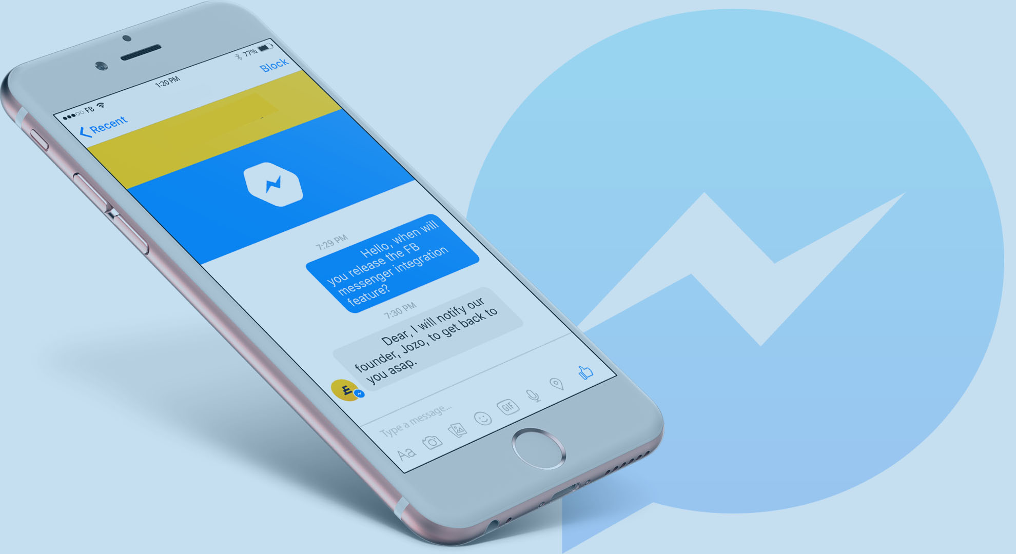 chatbot for messenger